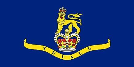 magFlags Bandera Large Governor-General of Tuvalu   Bandera Paisaje   1.35m²   80x160cm