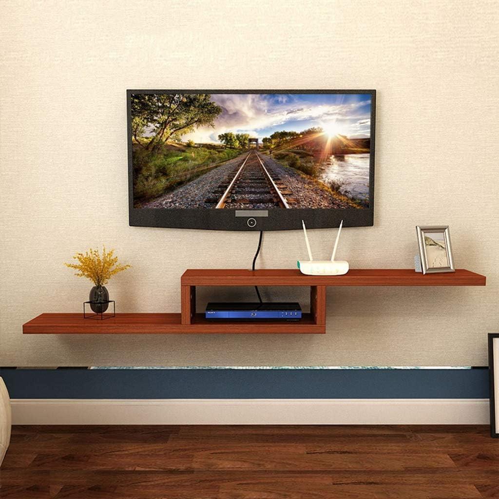 Sencillo estante simple para tablillas Estante para televisor Estante de pared Estante para pared Estante para pared TV montado en el gabinete Decoración Marco (color : Teak , Tamaño : 100*20cm) : Amazon.es: Hogar
