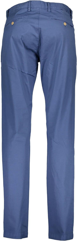 GANT Chino Rouge pour Homme Longueur 34 Bleu 475