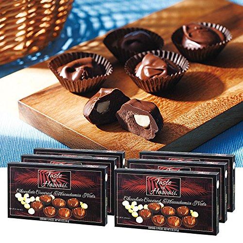 ハワイお土産 テイストオブハワイ マカデミアナッツチョコレート 6箱セット