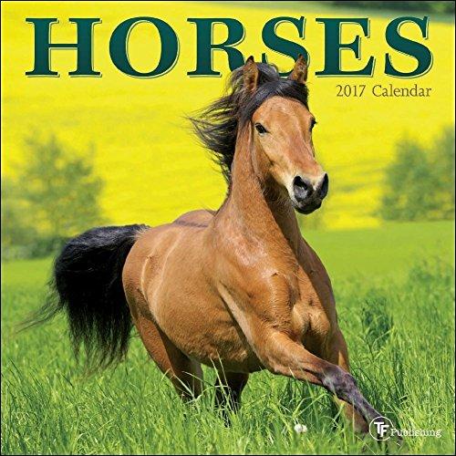 TF Publishing 2017 Horses Mini Calendar (17-2007)