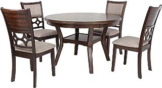 Sponsored Ad - New Classic Furniture Mitchell 5-Piece Dining Table Set, Dark Cherry