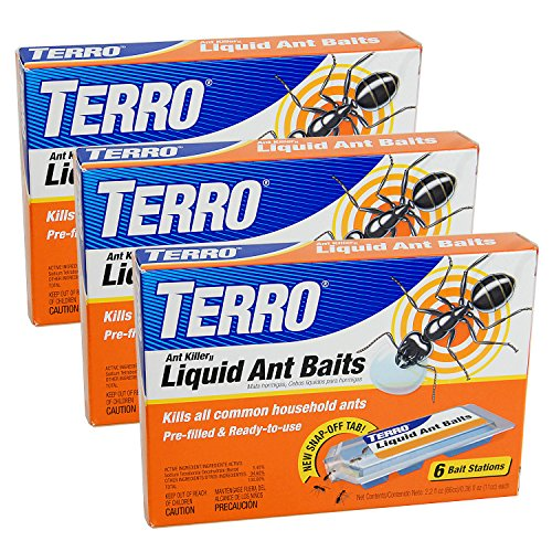 Terro T300 T300-3 Killer Liquid Ant Baits (3 Pack), 3-Pack