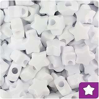 white star beads