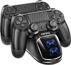 شارژر كنترل كننده PS4 ، ایستگاه شارژ كنترلر OIVO PS4 Dock Shock 4 كنترلر با نشانگرهای LED آبی برای Sony Playstation 4 PS4 / Slim / Pro Controller