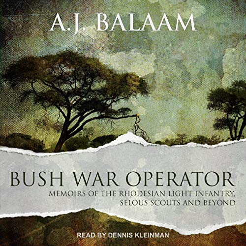 Page de couverture de Bush War Operator
