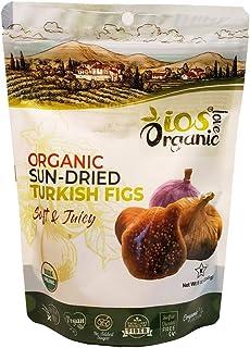 ORGANIC Turkish Dried Figs - IOS Love Organic- | Purely Figs - USDA Certified Organic Figs, NO Added Sugars, Sulfurs or Pr...