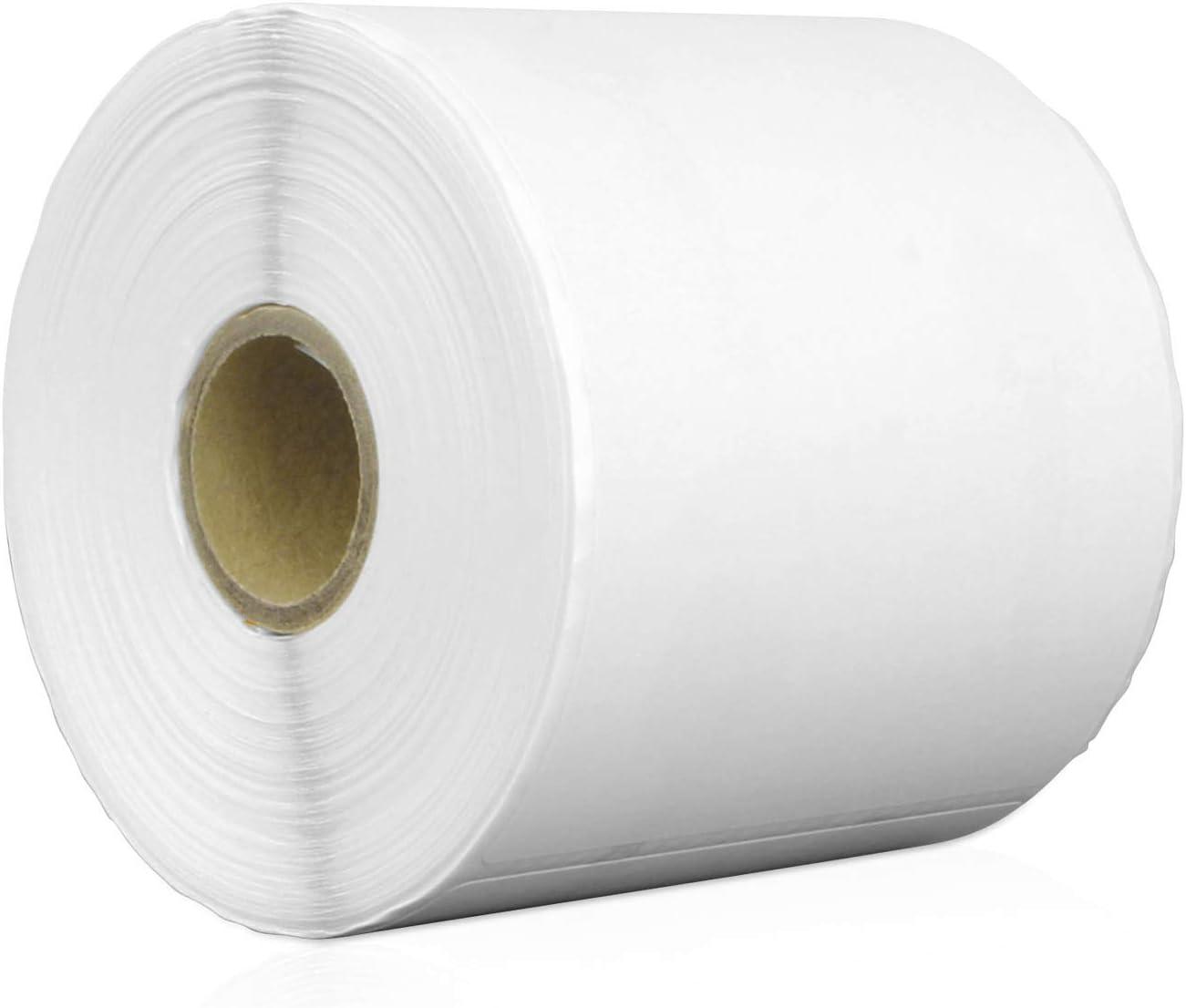 WHITE Labels 100mm x 38mm 1,000 Zebra Type Printer Labels 100x38