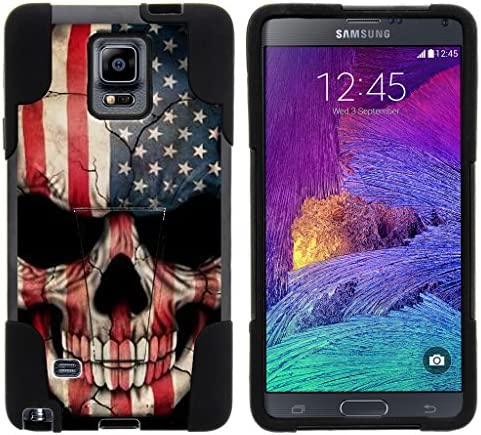 TurtleArmor Compatible with Samsung Galaxy Note 4 Case N910 Gel Max Hybrid Dual Layer Hard Shell product image
