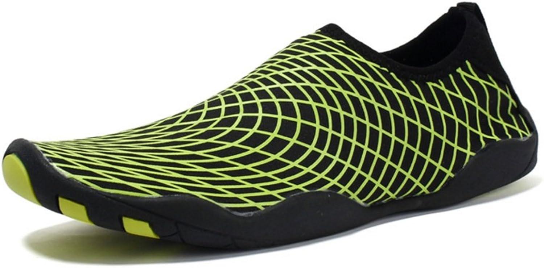 RENMEN Strandschuhe Paar Schwimmen Schuhe barfuß Patch Schuhe Rutschfeste waten Schuhe im Freien Schuhe 35-45, Grün  | Bestellungen Sind Willkommen