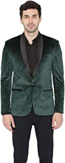 dark green velvet jacket