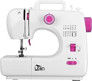 Portable Sewing Machine 2 Speed 16 Stitches Double Thread Needle Overlock Machine