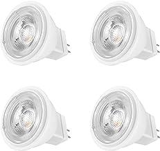MR 11/GU4 4W LED Light Bulbs 35W - 40W Halogen Equivalent AC/DC 12V 390LM Warm White 3000K Beam Angle 38° MR11 Recessed Sp...