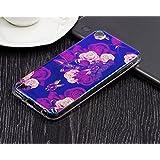 Dailylux iPod touch ケース Apple ipod touch 7/6/5 カバー 衝撃吸収 スリム 軽量 ハードバック アイポットタッチ5 ケース、アイポットタッチ6 ケース傷防止iPod touch 6/5世代 ハードケース(海棠)