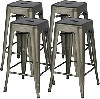 Best bar height stools backless Reviews