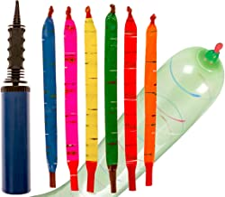 100-Pack of Rocket Balloons with Easy-to-Use Pump - Party Pack, No Need for A Refill - Watch Each Screaming Balloon Rocket to The Sky! by Impresa