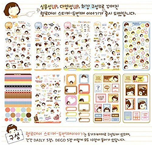 Dosige 20 Set Sticker Netter Katzen Deco Scrapbook Papier Aufkleber Craft Stempel Papier Aufkleber Geschenk Sticker Im Dose