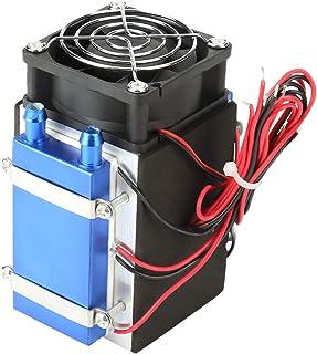 Enfriador, DC 12V 4/6 Chip Semiconductor Refrigerador de la máquina Refrigerador DIY Radiador Dispositivo de enfriamiento de aire(DC 12V 4 Chip)