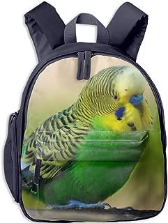Boy's and girl Printed Parrot Rucksack School Backpack Bookbag