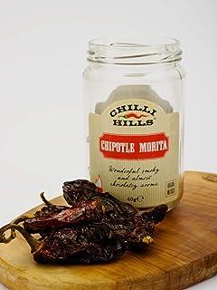 Chilli Hills chiles deshidratados CHIPOTLE MORITA. Los