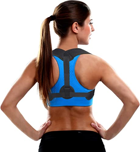 Posture Corrector for Women Men, Back Brace, Comfortable Posture Trainer for Spinal Alignment and Posture Support, Ad...