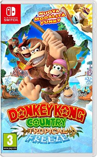 Donkey Kong Country: Tropical Freeze - Nintendo Switch [Importación italiana]