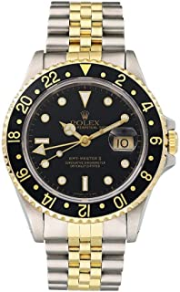 Rolex GMT Master II Automatic-self-Wind Male Watch 16713 (Certified Pre-Owned)