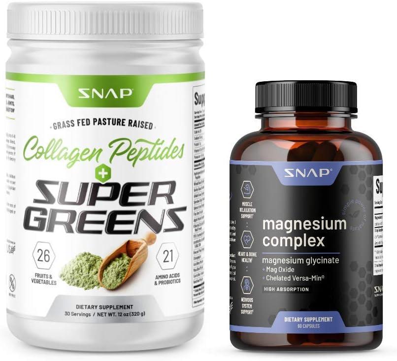 Super Greens Max 44% OFF + Department store Magnesium Complex Bundle Products 2