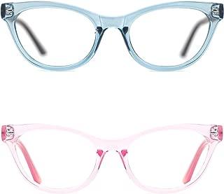 Super Inspired Mod Fashion Cat Eye Glasses Clear Color Translucent Eyewear Frame