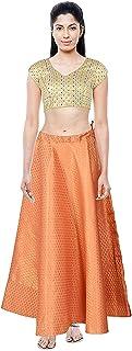 Mamta Women'S Women'S Gajari Skirts(Mamta Women'S_Gajari_Free Size)