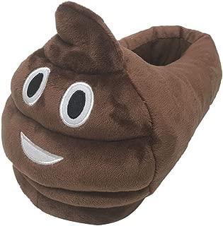 Unisex Poop Emoji House Plush Slippers Devil Adults Shoes