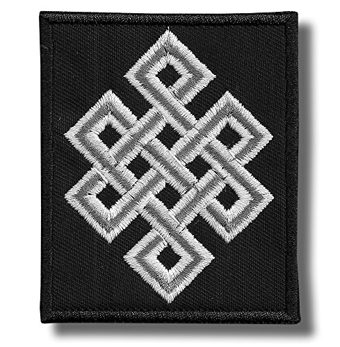 Celtic Knot - Embroidered Patch, 7 X 8 cm