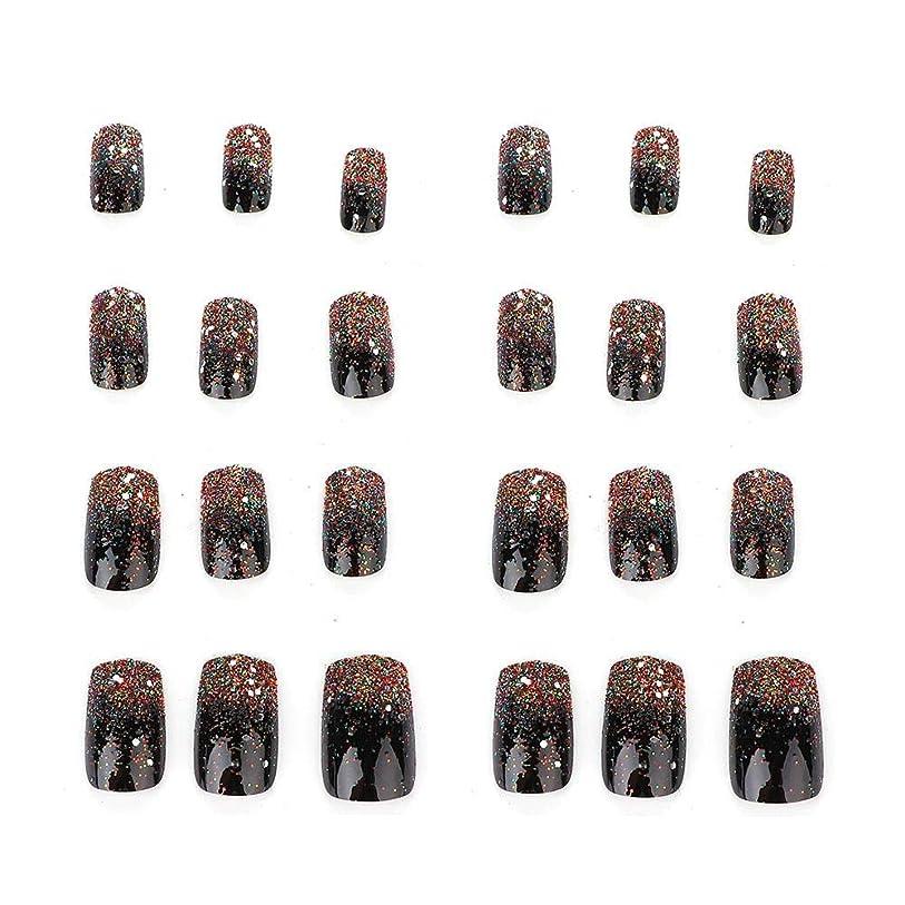 最初に皮肉なフロント5種類の取り外し可能なフルカバー偽爪のヒント人工手マニキュア装飾(03)