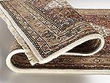 BADOHI BIDJAR echter klassischer Orient-Teppich handgeknüpft in creme-beige, Größe: 40x60 cm - 3