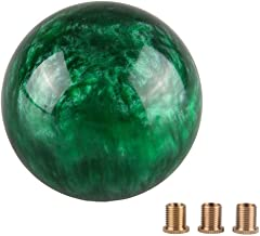 Pursuestar Green Nebula Cloud Round Shift Knob for Both Manual or Automatic Fit for Honda Toyota Mazda Nissan Acura 5-Speed 6-Speed