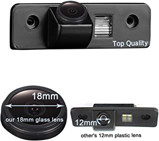 Navinio Super Starlight pro Vehicle Car Rear View Backup Camera 170°Reverse for Skoda O VW Skoda Octavia 2 RS 1Z MK2 Facelift Superb 2 Fabia 2 Roomster Tour Ford Mondeo MK2 MK3 Metrostar Fiesta MK5 F