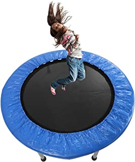 "Gijoki 38"" Mini Trampoline Band with Padding Springs Safe Elastic Exercise Workout Foldable Trampoline -US Shipment"