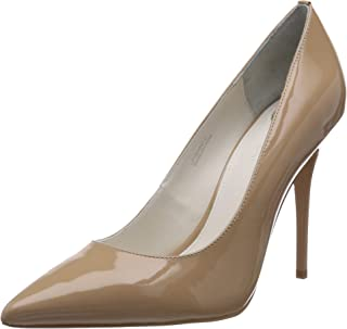 Buffalo London 11335X-269 L Patent PU, Women's Closed-Toe Pumps, Beige (Nude 01), 6 UK (39 EU)