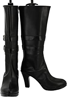Women Blake cosplay boots Halloween Anime Black Shoes Costume Accessories
