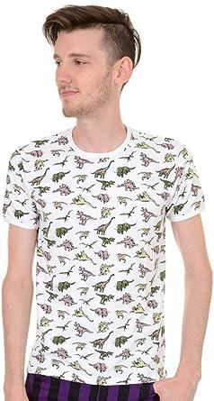Run & Fly Hombre Vintage Retro Jurásico Dinosaurio Hipster Camiseta