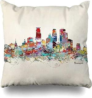 Throw Pillow Covers Minneapolis Minnesota Skhellip Fashion Design Outdoor Square Size 18 x 18 Inches Cushion Cases Home Pillowcases