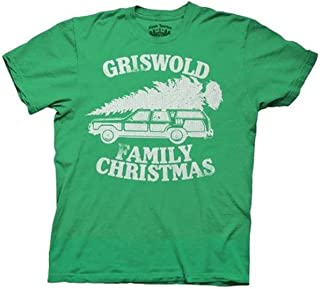 Christmas Vacation Green Griswold Family Christmas GREEN Adult T-shirt Tee (XX-Large)