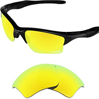 Tintart Performance Lenses Compatible with Oakley Half Jacket 2.0 XL Polarized Etched