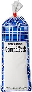 UltraSource - 190008 Ground Pork Freezer Bags, 1 lb. (Pack of 1000)