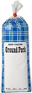 UltraSource Ground Pork Freezer Bags, 1 lb. (Pack of 1000)