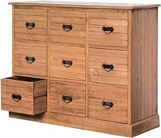 NES Furniture NES Fine Handcrafted Furniture Solid Teak Wood Benton Cabinet/Dresser - 51
