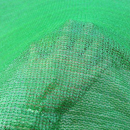 HUO Sun Shade Net Coupe-Vent Maille Résistant À La Déchirure 5 M De Largeur Privacy Clôture avec Œillets - Vert (Couleur : Green, Taille : 5 * 5m)