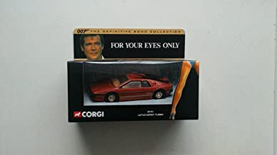 LOTUS ESPRIT TURBO * FOR YOUR EYES ONLY * 2001 Corgi Classics 007 The Definitive James Bond Collection 1:36 Scale Die-Cast Vehicle