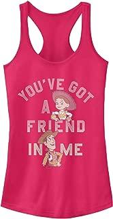 Toy Story Juniors' Jessie Friend in Me Racerback Tank Top