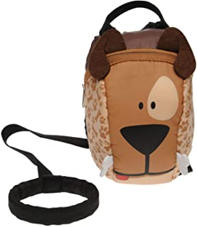 Star Backpack Dog Junior Boys Brown Rucksack Knapsack Bag Pack